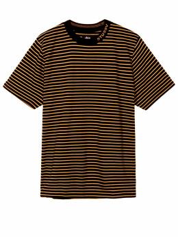 Stüssy Pullover Jack Stripe schwarz