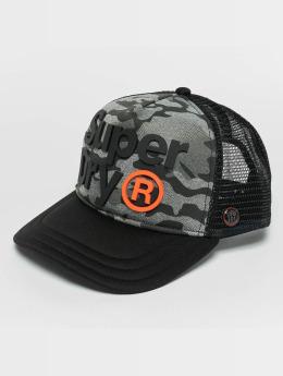 Superdry Big Rig Trucker Cap Black/Camo