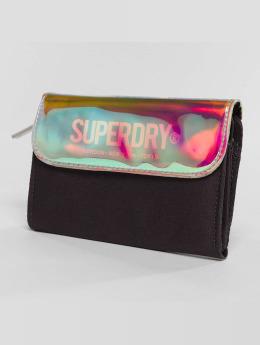 Superdry Portfele Evey Fold czarny