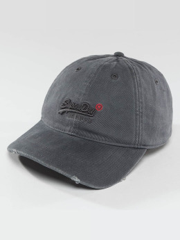 Superdry snapback cap Vintage grijs