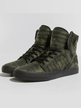 Supra Baskets Youths Skytop camouflage