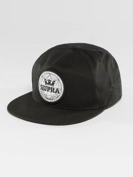 Supra Casquette Snapback & Strapback Geo Patch Slider noir