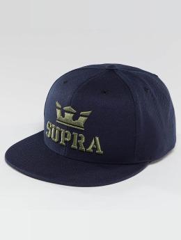 Supra Snapback Cap Above blu