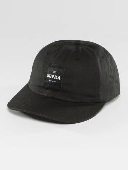 Supra Snapback Cap Label Slider schwarz