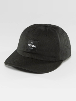 Supra snapback cap Label Slider zwart