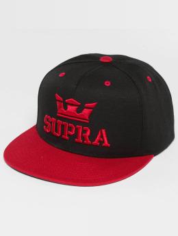 Supra Snapback Caps Above czarny