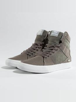 Supra Sneaker Aluminium grau
