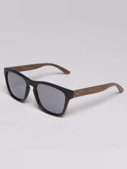 TAKE A SHOT Sonnenbrille Mack Walnussholz braun