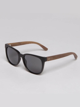 TAKE A SHOT Sunglasses The Nightingale Walnussholz brown