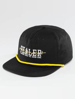 Tealer Snapback Caps Independent musta