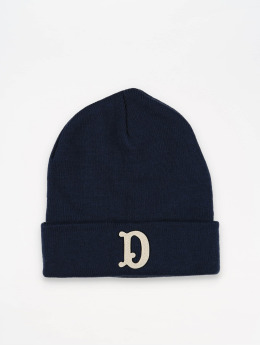 The Dudes Beanie D Patch blauw