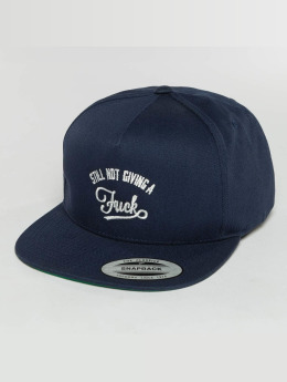 The Dudes Casquette 5 panel SNGAF bleu