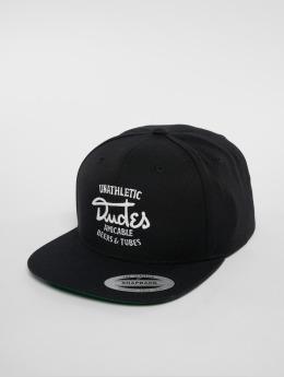 The Dudes snapback cap Amicable 6 Panel zwart