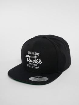 The Dudes Snapback Caps Amicable 6 Panel musta