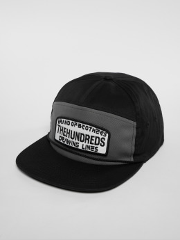 The Hundreds Snapback Cap Race black