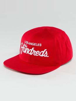 The Hundreds Snapbackkeps Forever Team röd