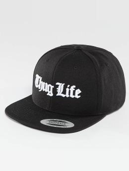 Thug Life Basic Snapback Cap Basic Old English schwarz