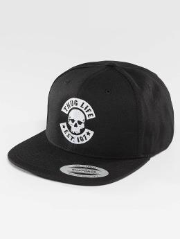Thug Life Basic Snapback Caps Basic Skull czarny
