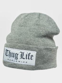 Thug Life Beanie Freeze grau