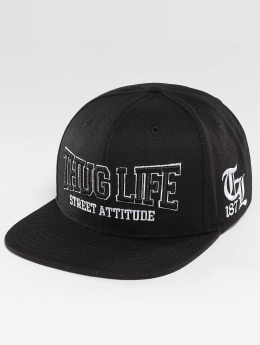 Thug Life Snapback Cap Attitude black