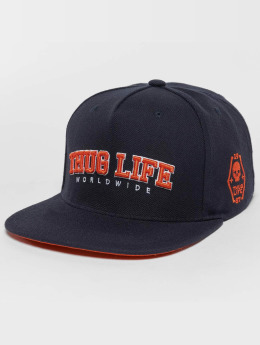 Thug Life Snapback Cap Blazer blau