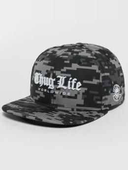 Thug Life Snapback Cap Digital mimetico