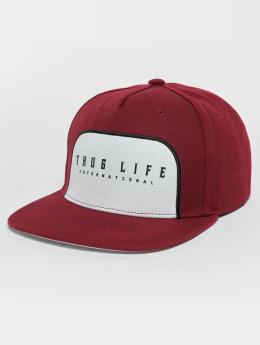 Thug Life Snapback Cap Avantgarde rot