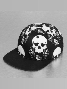 Thug Life Snapback Cap The Scull schwarz