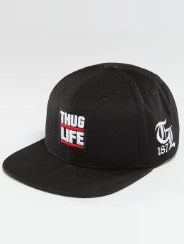 Thug Life snapback cap Raw zwart
