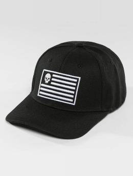 Thug Life Snapback Caps Flag musta