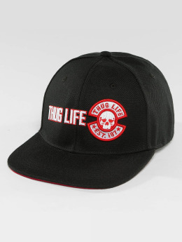 Thug Life Snapback Caps Lux musta