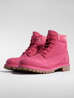 Timberland Baskets 6 In Premium Wp rouge