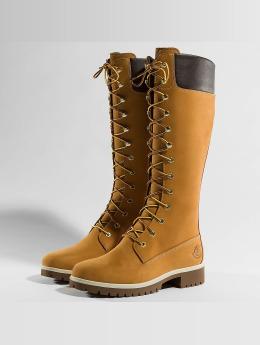 Timberland Bota Premium 14 Inch Waterproof beis
