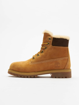 Timberland Chaussures montantes 6 In Premium Waterproof Shearling Lined beige