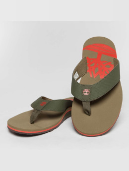 Timberland Wild Dunes Synth Thong Sandals Grape Leaf