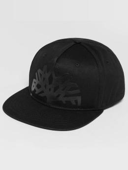 Timberland Snapback Cap Large Logo Solid schwarz