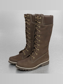 Timberland Women Boots Asphalt Trail Classic Tall Lace-Up brown