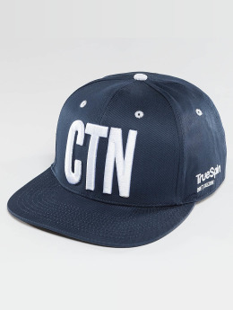 TrueSpin Кепка с застёжкой Shorty CNT синий