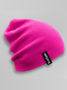 TrueSpin Beanie Basic Style pink