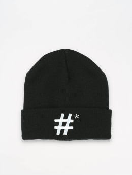 TrueSpin Bonnet Hashtag noir