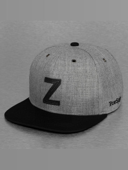 TrueSpin Casquette Snapback & Strapback ABC-Z Wool gris