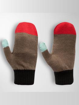 TrueSpin Handschuhe Mittens braun