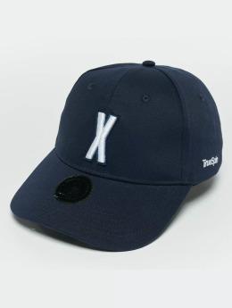 TrueSpin snapback cap ABC X blauw