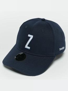 TrueSpin snapback cap ABC Z blauw