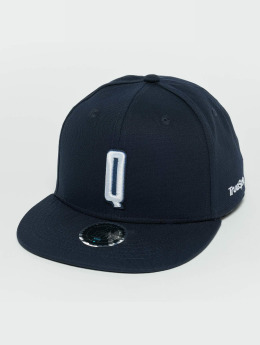 TrueSpin snapback cap Kids ABC Q blauw
