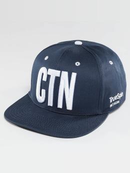 TrueSpin Snapback Cap Shorty CNT blu