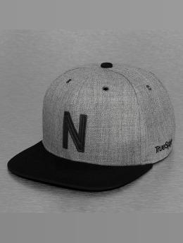 TrueSpin Snapback Cap ABC-N Wool grau