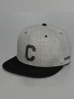 TrueSpin snapback cap ABC-C Wool grijs