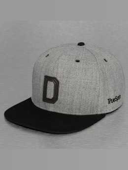 TrueSpin snapback cap ABC-D Wool grijs