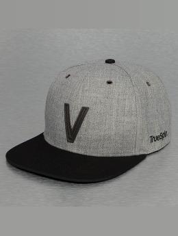 TrueSpin snapback cap ABC-V Wool grijs